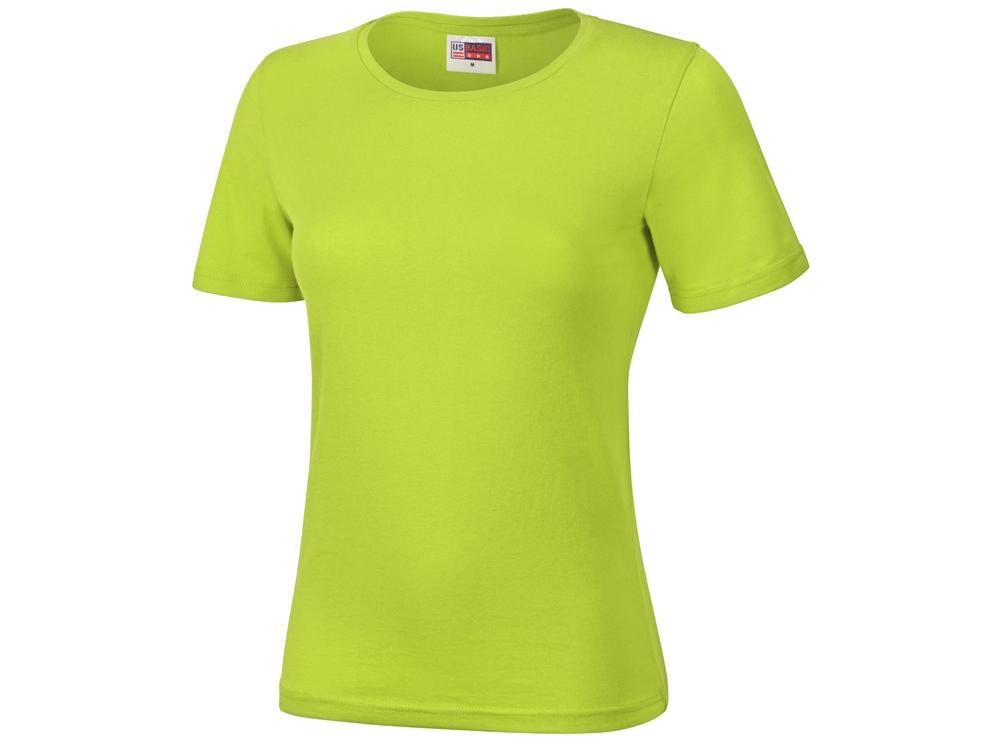 Футболка Heavy Super Club женская, зеленое яблоко