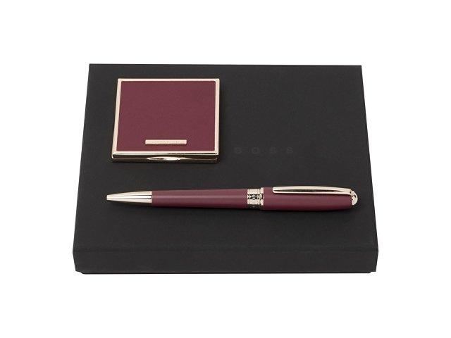 Подарочный набор: зеркало складное, ручка шариковая (арт. HPBG707R)