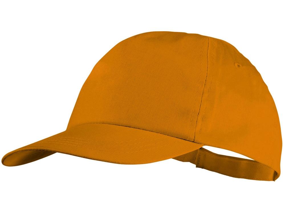 Бейсболка Basic, 5-ти панельная, оранжевый