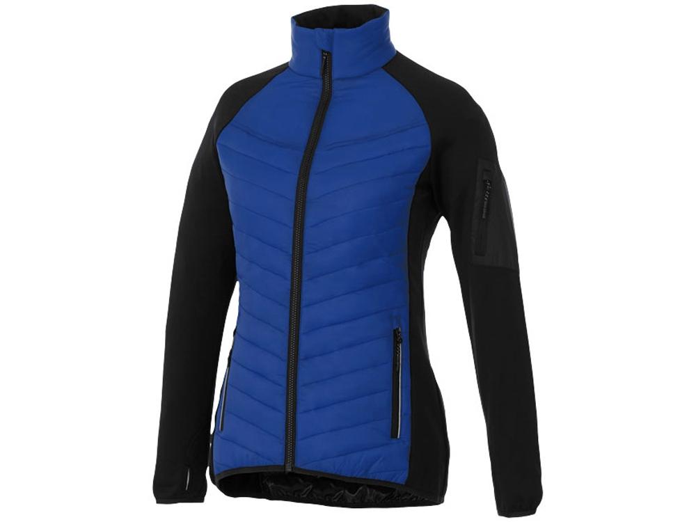 Женская утепленная куртка Banff, синий/черный