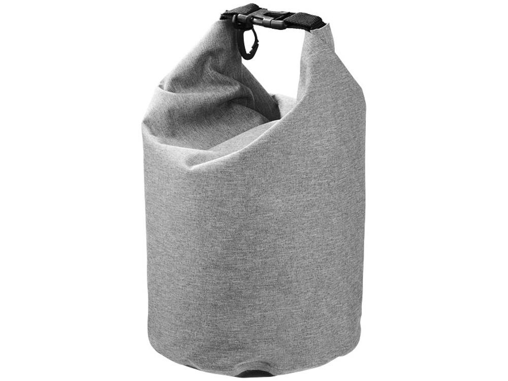Туристический 5-литровый водонепроницаемый мешок, серый