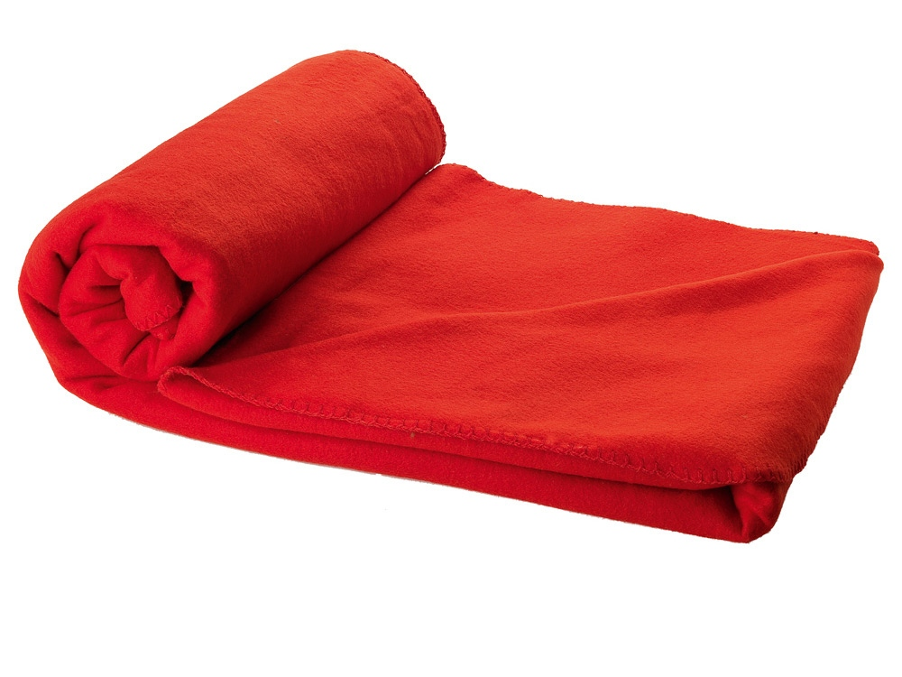 Плед Huggy в чехле, красный
