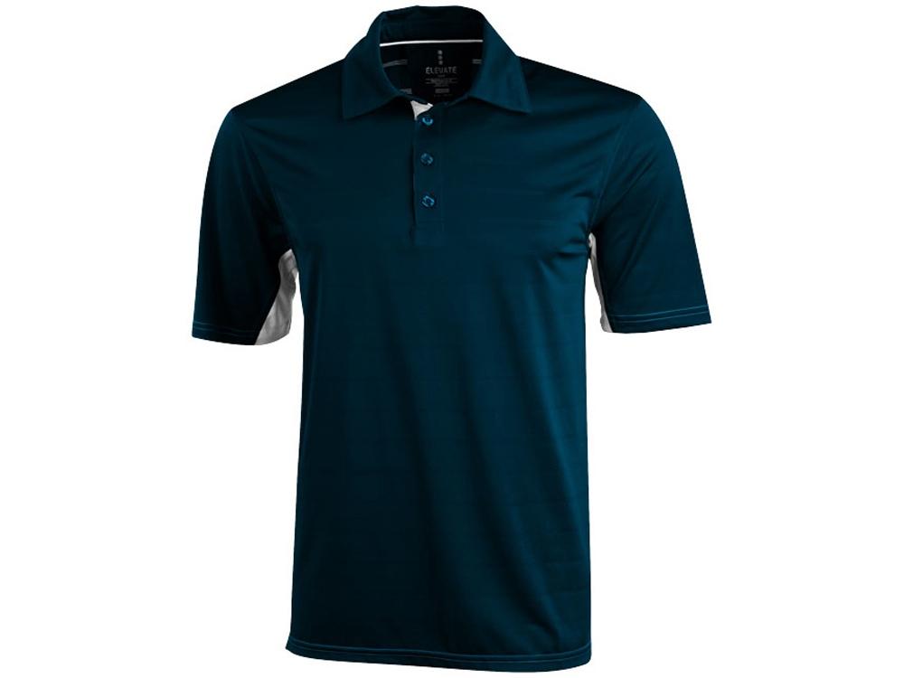 Рубашка поло Prescott мужская, темно-синий