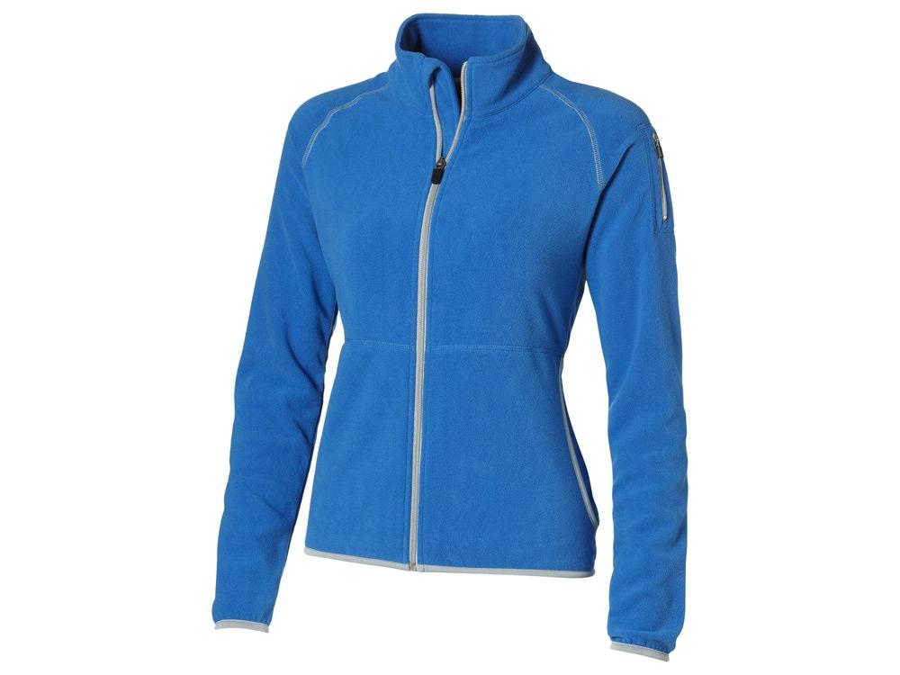 Куртка Drop Shot из микрофлиса женская, небесно-голубой