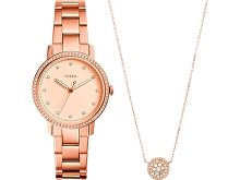 Подарочный набор: часы наручные женские, кулон (арт. 29451)
