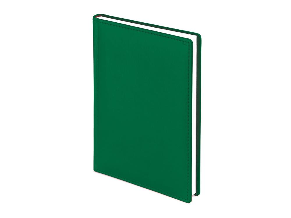 Ежедневник недатированный А4 Velvet, темно-зеленый