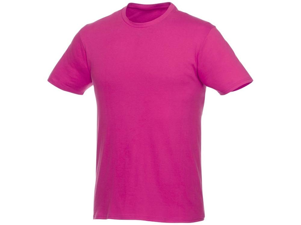 Футболка-унисекс Heros с коротким рукавом, розовый
