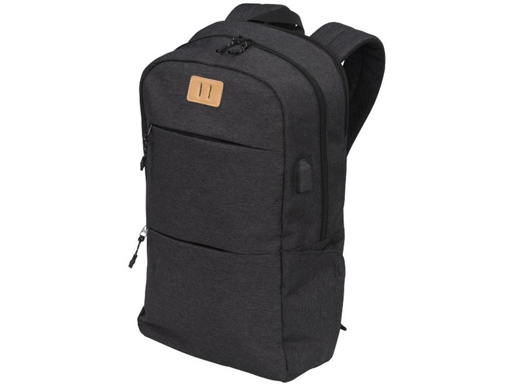 Рюкзак Cason для ноутбука 15 дюймов, темно-серый