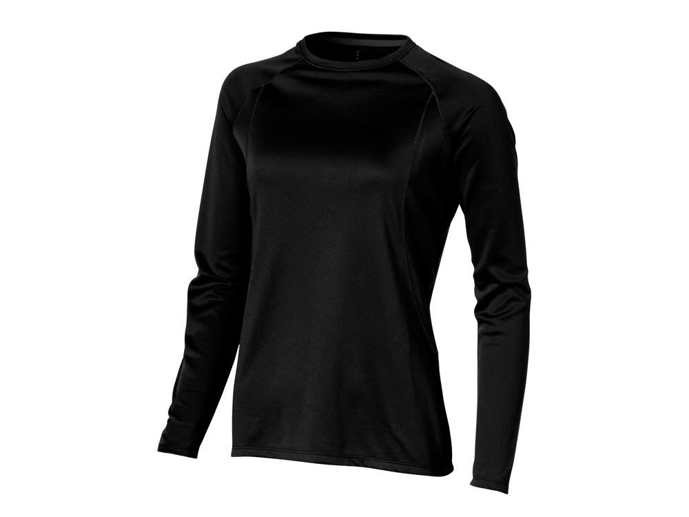 Футболка Whistler женская с длинным рукавом, черный