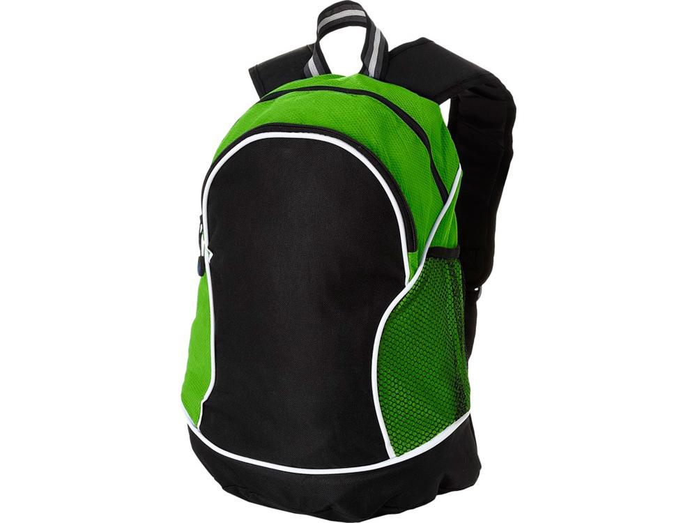 Рюкзак Boomerang, черный/лайм