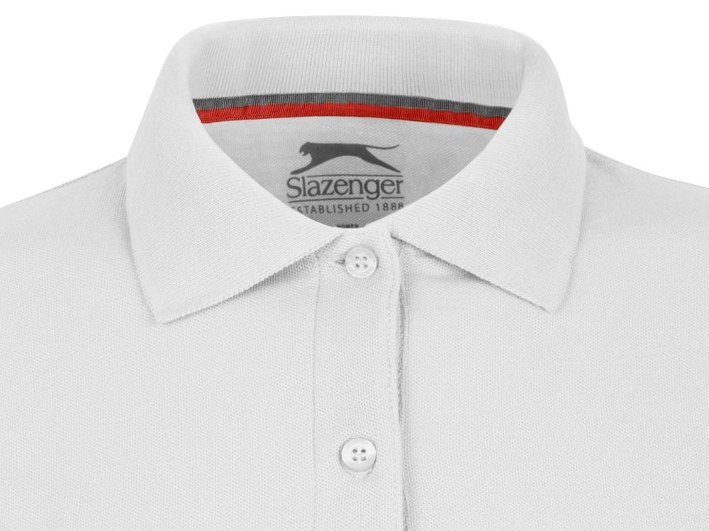 Рубашка поло Point женская с длинным рукавом, белый