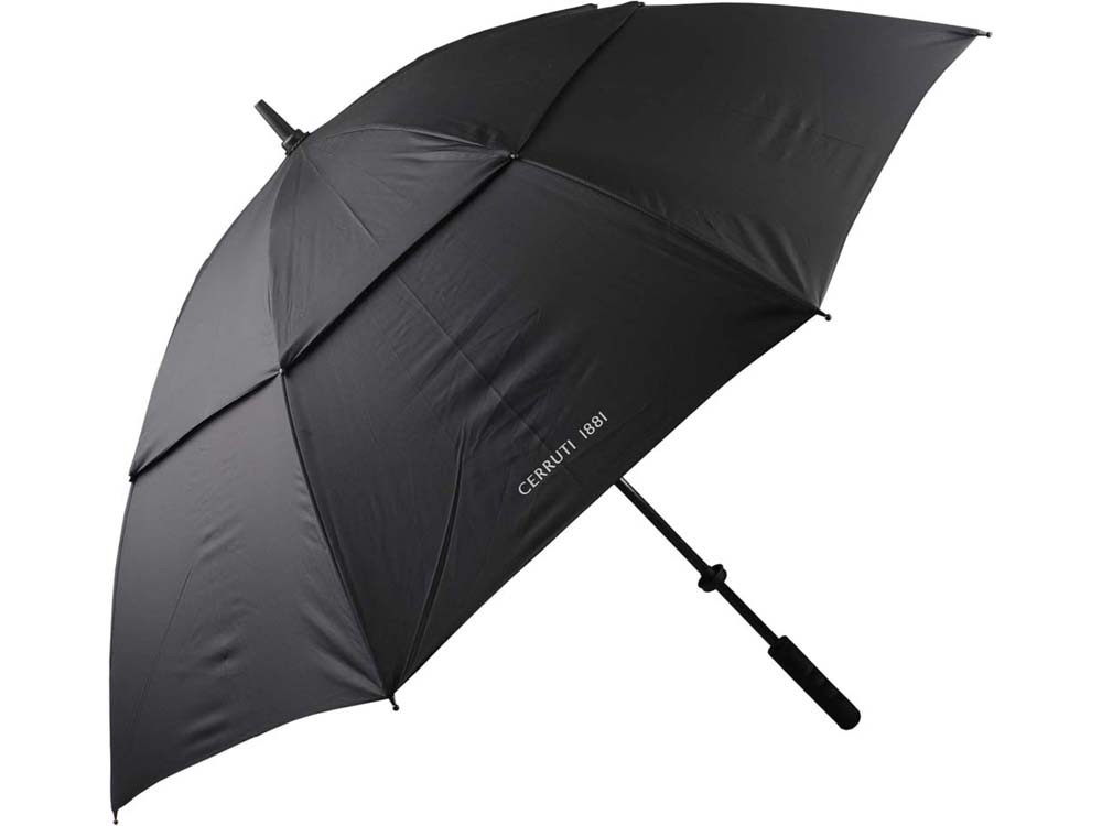 Зонт-трость Cerruti 1881, черный