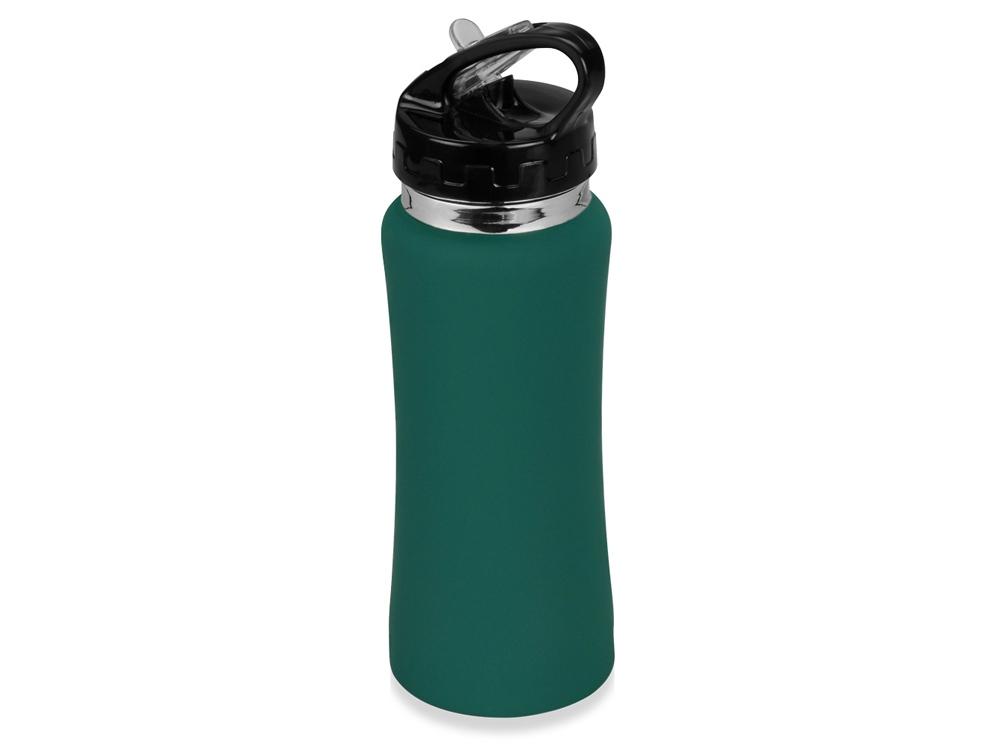 Бутылка спортивная Коста-Рика 600мл, зеленый