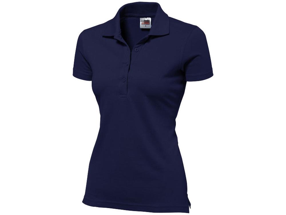 Рубашка поло First женская, темно-синий