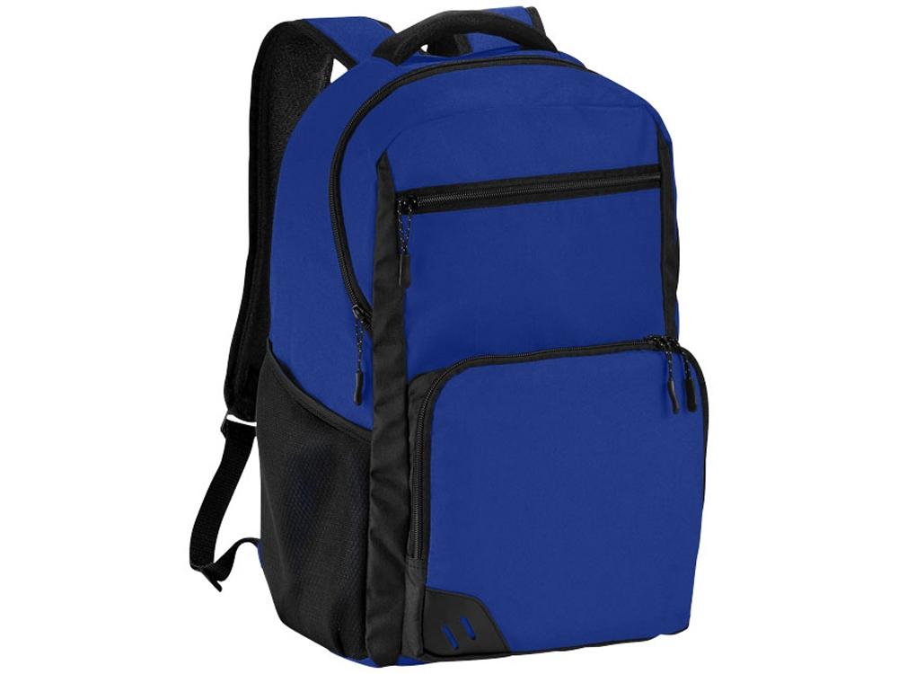 Рюкзак Rush для ноутбука 15,6 без ПВХ, ярко-синий/черный