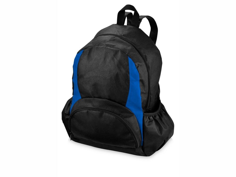 Рюкзак Bamm-Bamm, черный/ярко-синий