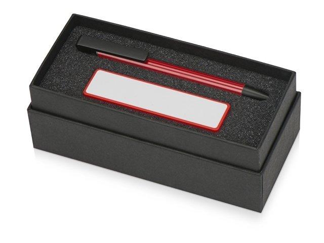 Подарочный набор Kepler с ручкой-подставкой и зарядным устройством, красный