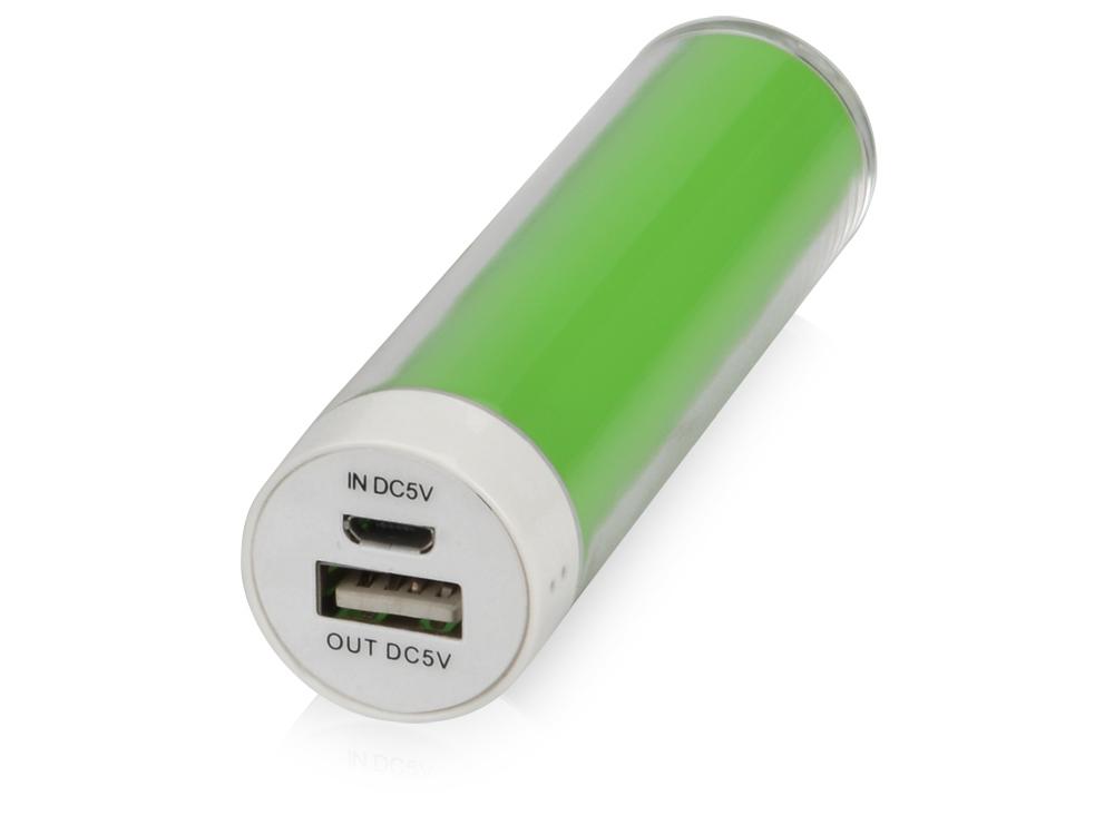 Портативное зарядное устройство Тианж, 2200 mAh, зеленое яблоко