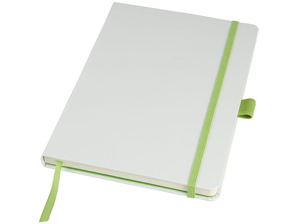 Цветной блокнот Melya, белый