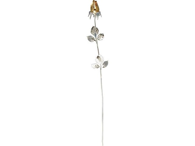 Роза с золотым бутоном (арт. 50149)