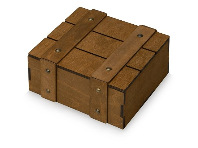 Подарочная деревянная коробка «Quadro»
