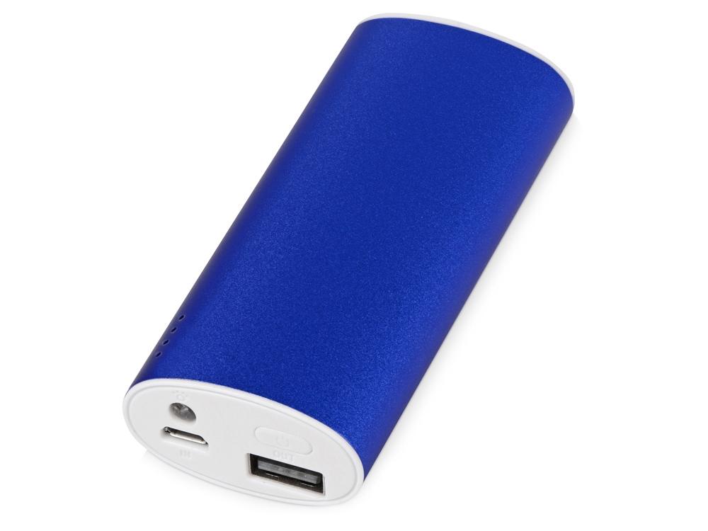 Портативное зарядное устройство Квазар, 4400 mAh, синий