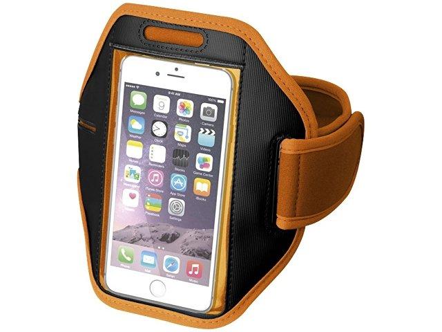 Наручный чехол Gofax для смартфонов с сенсорным экраном, оранжевый