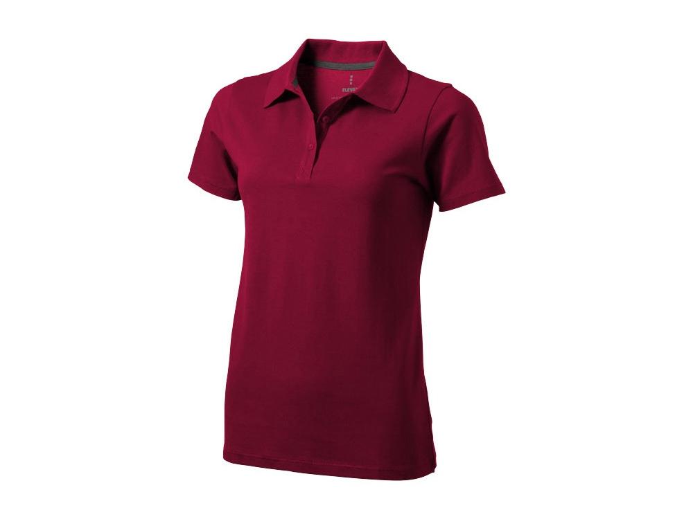 Рубашка поло Seller женская, бургунди