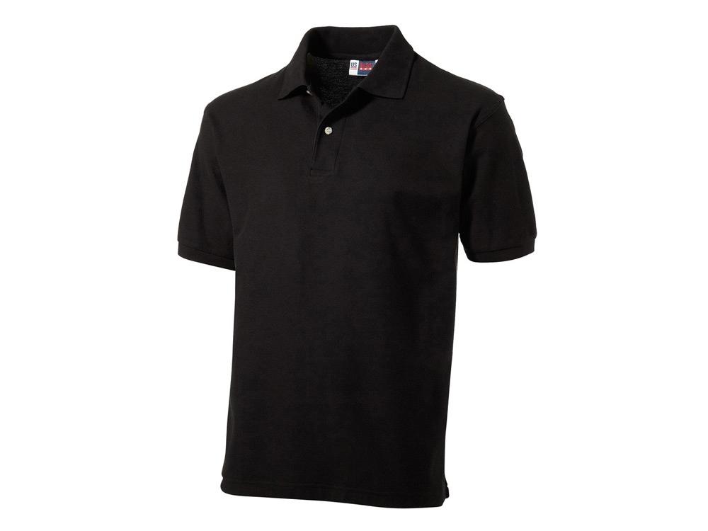Рубашка поло Boston мужская, черный