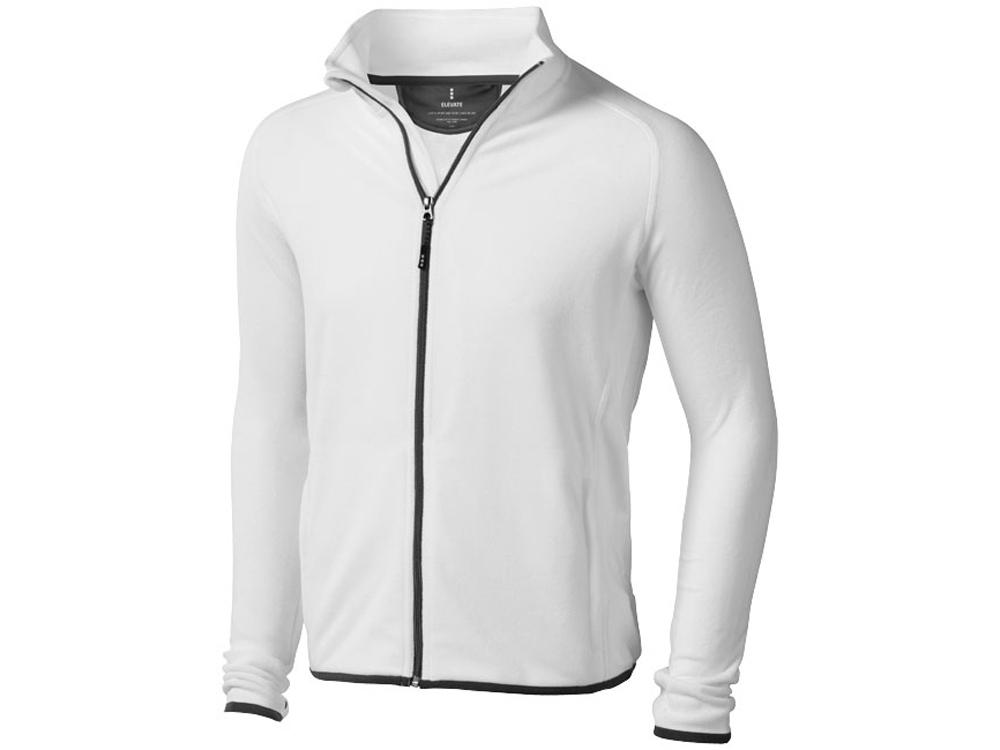 Куртка флисовая Brossard мужская, белый