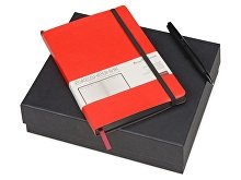 Подарочный набор «Megapolis Soft»: ежедневник А5 , ручка шариковая (арт. 700403)