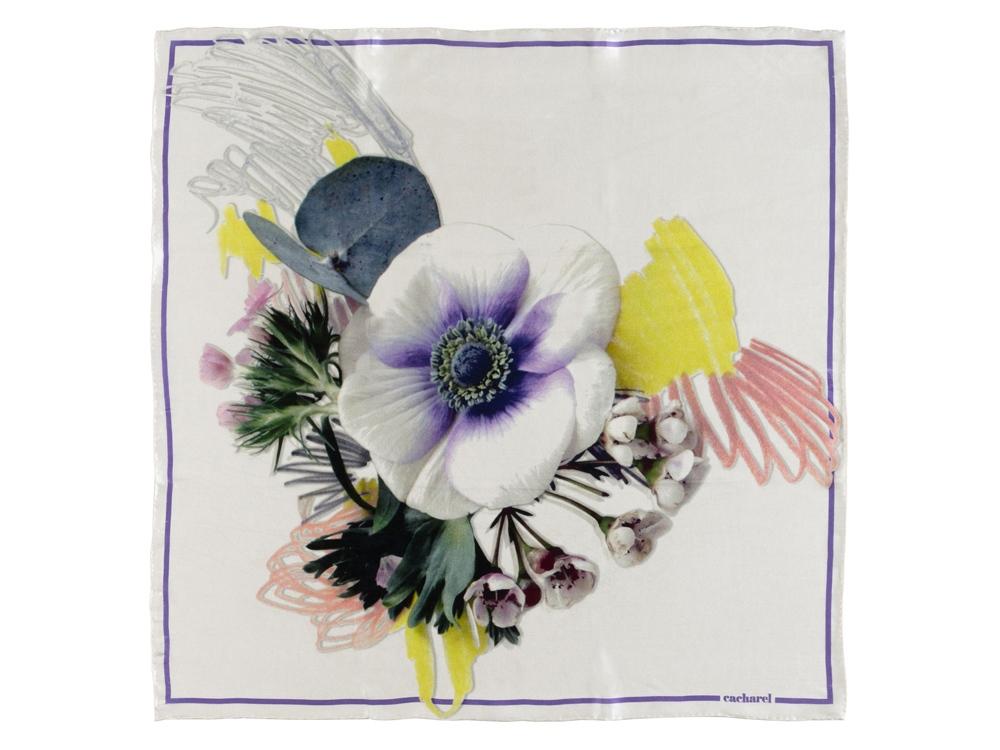 Шелковый платок Madeleine White