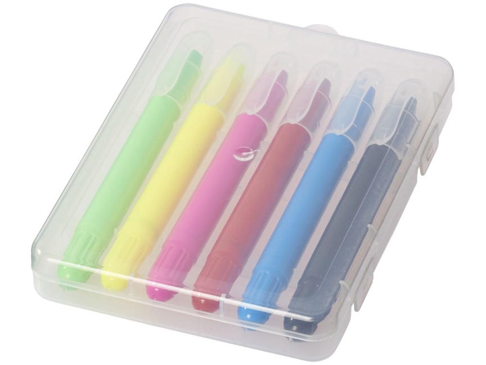 Выдвижные мелки Phiz, прозрачный/разноцветный