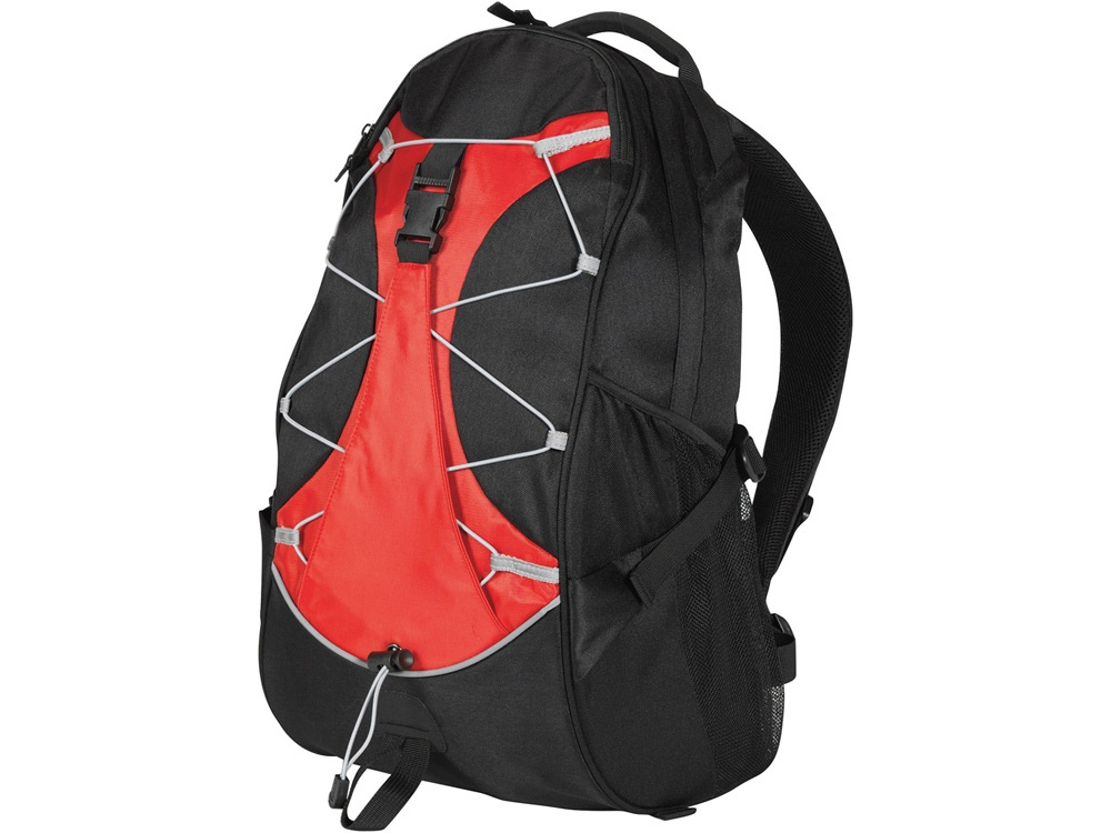 Рюкзак Hikers, черный/красный