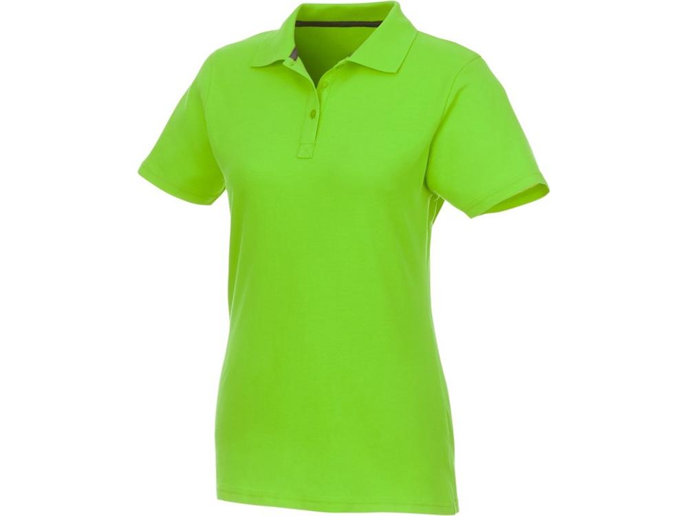 Женское поло Helios с коротким рукавом, зеленое яблоко