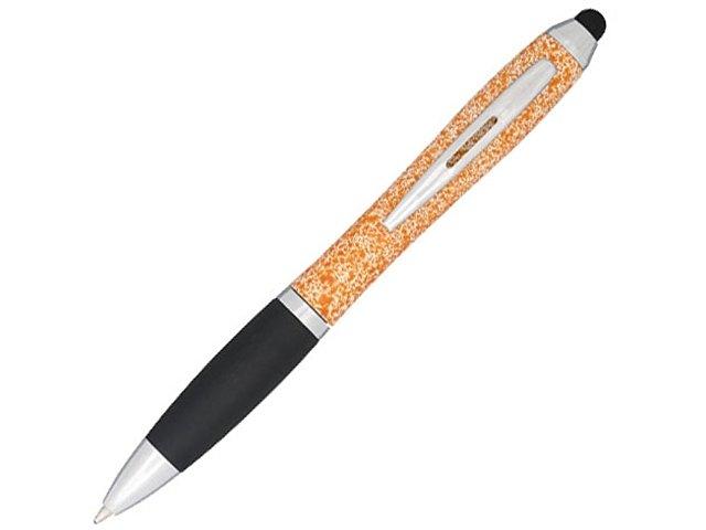 Ручка-стилус пластиковая шариковая «Nash» крапчатая