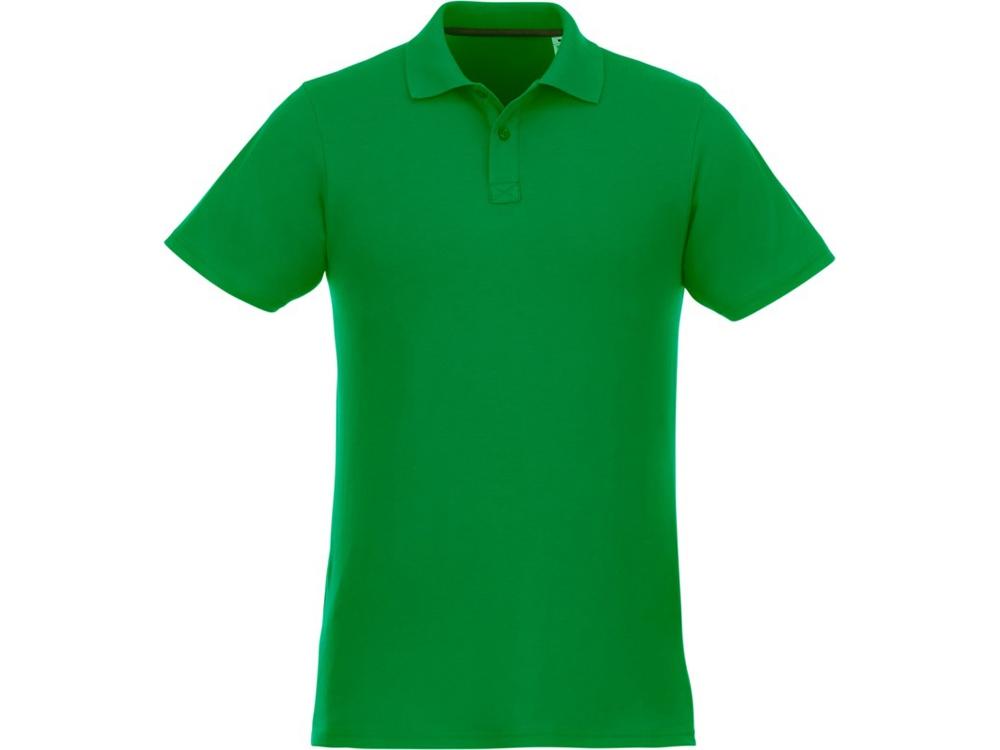 Мужское поло Helios с коротким рукавом, fern green