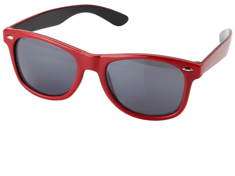 Очки солнцезащитные Crockett, красный/черный