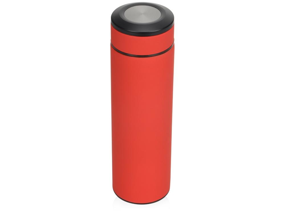 Термос Confident с покрытием soft-touch 420мл, красный