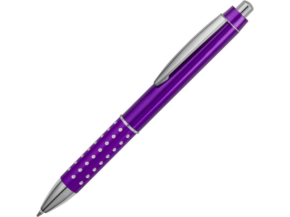 Ручка шариковая Bling, пурпурный, синие чернила
