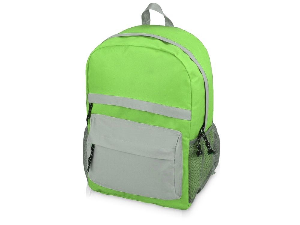 Рюкзак Универсальный (серая спинка), зеленое яблоко