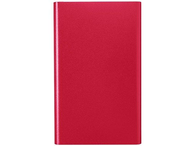 Алюминиевый повербанк Pep емкостью 4000 мА/ч, красный