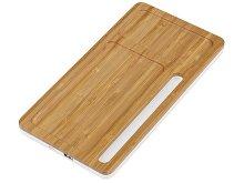 Беспроводное зарядное устройство-органайзер из бамбука «Timber» (арт. 590968)