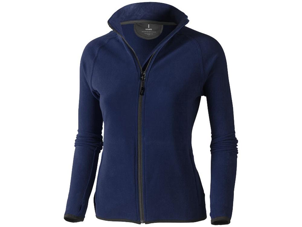Куртка флисовая Brossard женская, темно-синий
