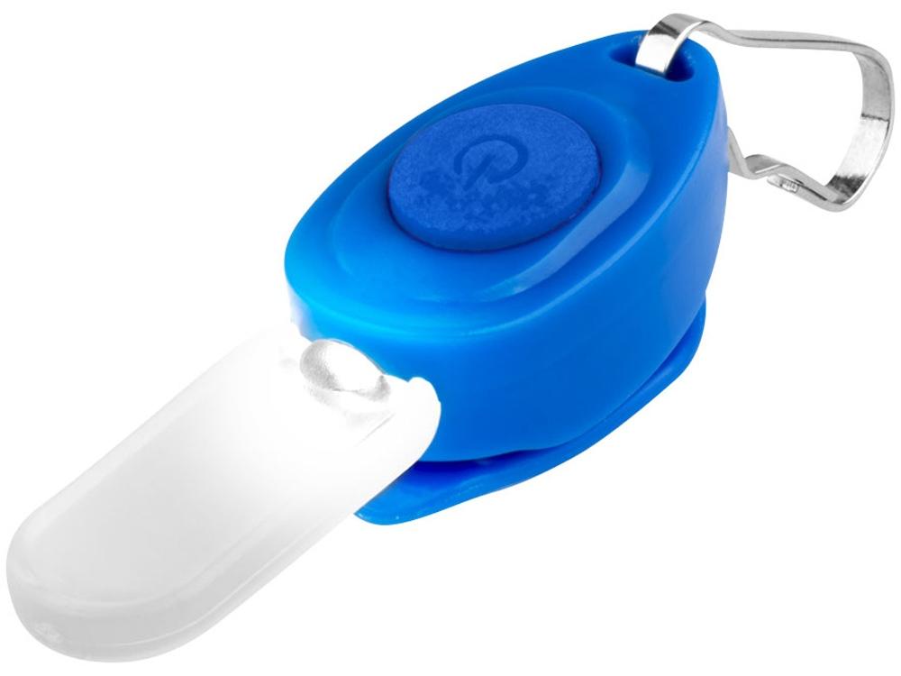 Брелок-фонарик для молнии, синий