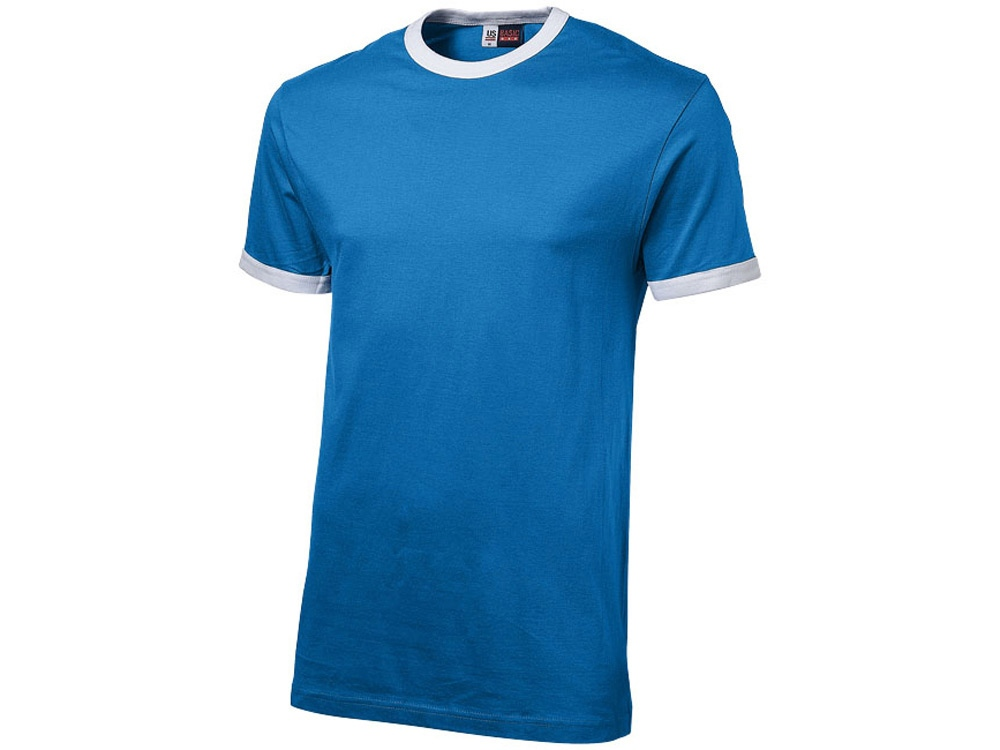 Футболка Adelaide мужская, небесно-синий/белый