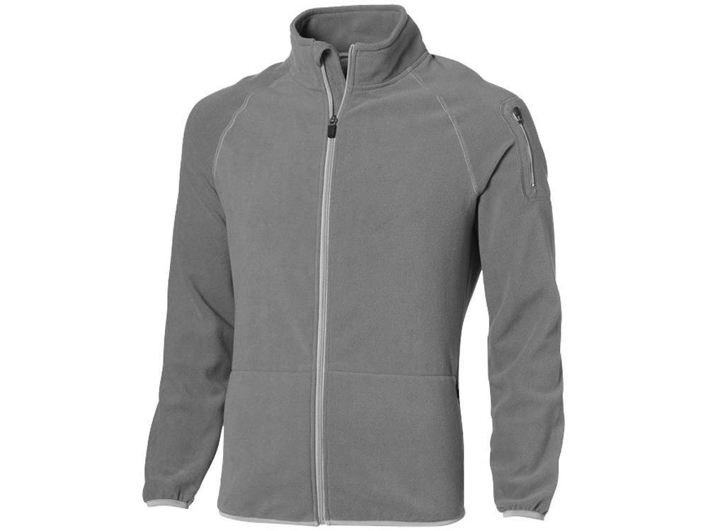 Куртка Drop Shot из микрофлиса мужская, серый