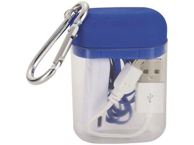 Наушники с функцией Bluetooth® с чехлом с карабином, ярко-синий