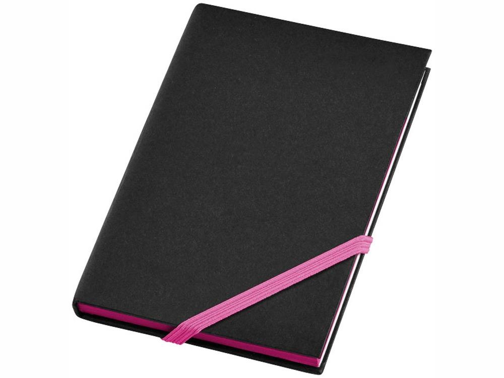 Блокнот А6 Travers Junior, черный/розовый