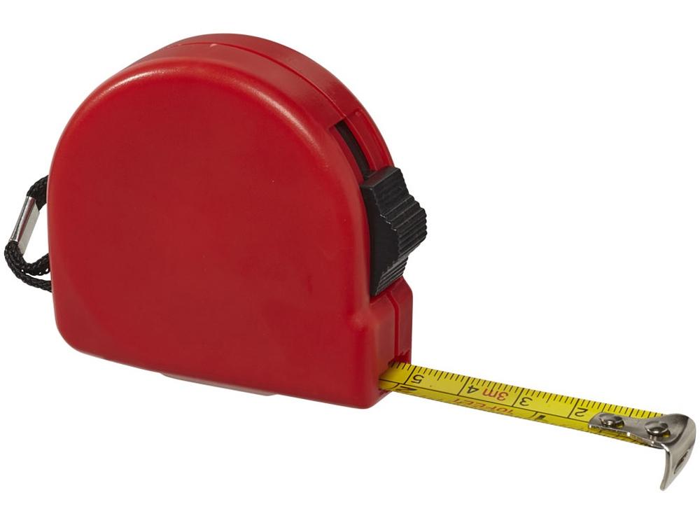 Рулетка Clark 3м, красный